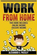 Work from Home : 2 Manuscripts - Online Income, Passive Income (Affiliate.