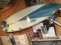 """Surfboard """"SHAW SURFBOARDS"""",Custom, Handmade To Order, Since 1958, $500&up, any"""
