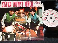SLAVA KUNST DANCE ORCHESTRA The Danube.../ Czech 4-track SP 1964 SUPRAPHON 33558