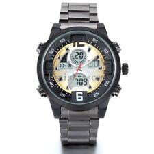 Luxury Mutli-function Cool Light Arlarm Date Day Analog Digital Mens Wrist Watch