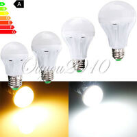 Ampoule E27 3/5/7/9W 2835 5050 5730 SMD LED Lampe Light Spot Bulb AC 220-240V