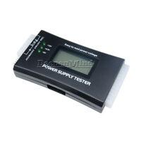LCD PC Computer 20/24 Pin 4 PSU ATX BTX ITX SATA HDD Power Supply Tester