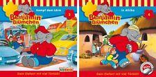 2 CDs * BENJAMIN BLÜMCHEN - HÖRSPIEL FOLGE / CD 3+4 IM SET # NEU OVP KX