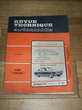 REVUE TECHNIQUE AUTOMOBILE n° 283 Nov 1969 FORD CORTINA opel Kadett Simca 1000