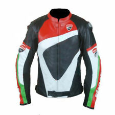 Valentino Rossi DUCATI CORSE Motorbike Motorcycle Motogp Leather Jacket