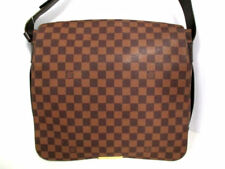 Auth Louis Vuitton Bastille N45258 Ebene Damier Canvas SP0092 Schultertasche