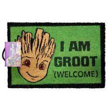 MARVEL 'I AM GROOT (WELCOME)' COIR DOOR MAT - OFFICIAL LICENSED **NEW**