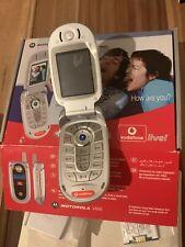 Motorola V550 Klapphandy Silber mit OVP Neuwertig