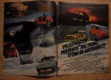 1973 Print Ad VW Volkswagen 'THE THING' ~ CAR TRUCK SUV ~ It Can Be ANYTHING