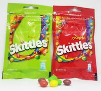 Skittles Sour Original Candies Candy Multi Packs of Resealable Packaging 40g