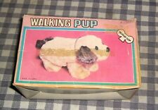 "Rare,Vintage ""Walking Pup"" 1960's Made in Korea,Wind-up Dog Walks on 4 Legs, NOS"