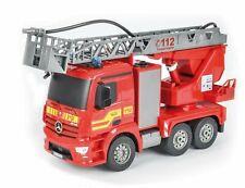 Carson 500907282 Feuerwehr Drehleiter 1:20 Mercedes Antos 2,4GHz
