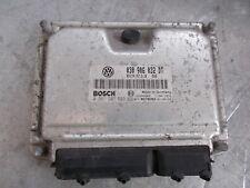 2002 VOLKSWAGEN VW POLO 1.4 6N2 030906032DT 0261207593 ECU motor de gasolina