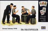 """Master Box — """"Die Skatsspieler"""" — Plastic model kit 1:35 Scale #3525"""