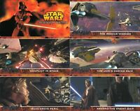 Star Wars - Revenge of the Sith - Widevision - Card SET (80) - 2005 Topps - NM