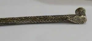 ANCIENT METAL PIPE TOBACCO HANDCRAFTED DECORATIF PIPES