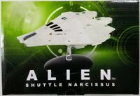 Eaglemoss Alien Shuttle Narcissus Ship Limited Edition Starship Model 3000 MADE