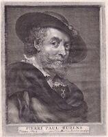 Portrait XVIIIe Pierre Paul Rubens Peter Paul Rubens Siegen Pays Bas Peinture