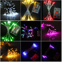 100/200 LED Lamp Solar String Light Multi-color Party Xmas Wedding Outdoor Decor
