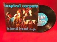 "INSPIRAL CARPETS Island Head EP 1990 UK 7"" Vinyl Single EXCELLENT CONDITION 45"