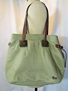 Authentic DOONEY BOURKE Nylon and Leather Tote handbag