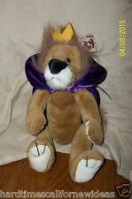 Ty Collectible Sire Lion Crown Cape 1993 Plush With Tag