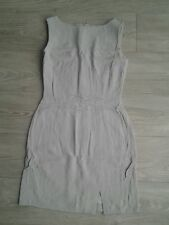 Robe droite gris clair MEXX taille 38, tbe!