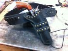 WESTERN HOLSTER AND GUN BELT HAND TOOLED COWBOY ACTION