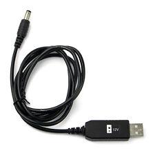 USB-Ladekabel für Baofeng BF-UV5R UV5RA UV5RE TYT TH-F8 Retevis RT-5R Schwarz