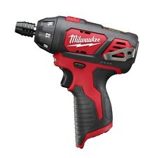 "MILWAUKEE M12  (12 VOLT) 1/4"" HEX  COMPACT SCREWDRIVER 2401-20  BARE TOOL - NEW"