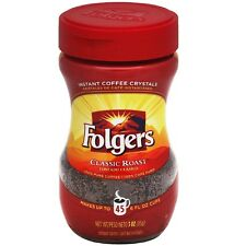 Folgers Classic Roast Instant Coffee 3 oz