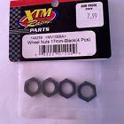XTM Racing 17mm wheel nuts (black) 149259
