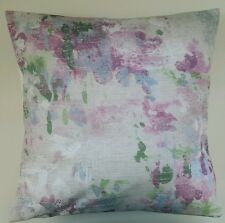 """Cushion Cover in Next Watercolour Floral Print 16"""" Matches Curtains"""