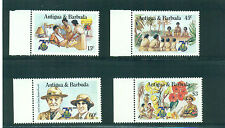 Antigua 1985 Girl Guides Nurses Lady and Lord Baden Powell  MNH
