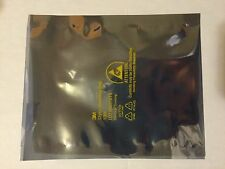 "Two 4x6"" Static Shielding Bags ESD Antistatic Open-Top - Metal In - NEW"