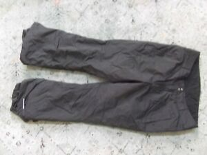 Women's COLUMBIA black snow pants Sz. L