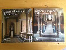 Carrara E Il Mercato Della Scultura. 2 volumes reliés