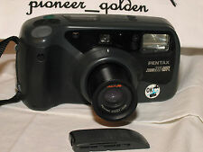 PENTAX ZOOM 90WR WATER RESISTANCE CAMERA w/built-in zoom lens, REMOTE,