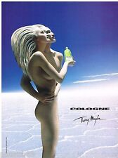 PUBLICITE ADVERTISING 075 2002  COLOGNE  parfum  de THIERRY MUGLER