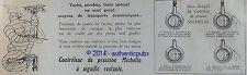 PUBLICITE MICHELIN PNEU CONTROLEUR DE PRESSION YACHT TRAIN BIBENDUM DE 1921 AD