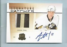 JORDAN STAAL 2009/10 THE CUP SIGNATURE PATCHES COLOR PATCH AUTOGRAPH AUTO /75