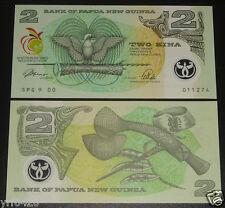 PAPUA NEW GUINEA Polymer Banknote 2 Kina 1991 UNC