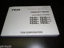 Ersatzteilliste Gabelstapler Forklift Spare Parts Catalog TCM Gas LPG Diesel!
