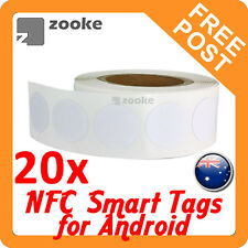 20x NFC Ntag203 Smart Tag Sticker for Samsung Nexus Sony - Android Devices