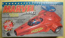 MARVEL SPIDER MAN DRAGSTER TOY BIZ 1990 MIB RARE