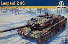 Italeri 1/35 Leopard 2 A6 German Tank Kit # 6435 NIB
