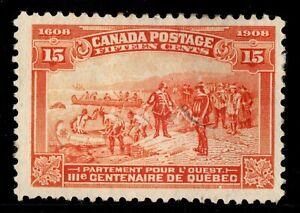 #102 Edward VII 15c Canada mint