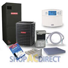 3.5 Ton 14 SEER Goodman Heat Pump Split System GSZ140421 ARUF43C14 TX5N4 Install