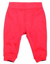 Tiny Little Wonders  00 3 - 6 M Baby Girl Orange Fleecy Lined Track Suit Pants
