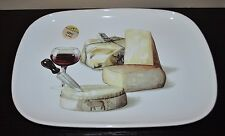 NEW CERAMISIA SALAD/SERVING/PASTA TRAY/PLATE CHEESE WINE ITALY Oval Large